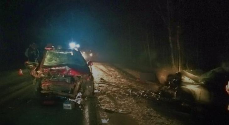 В Меленковском районе в ДТП скончался пассажир Ford