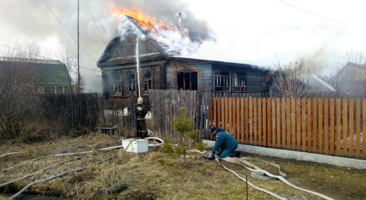 На улице Гоголя загорелся частный дом. Есть погибший