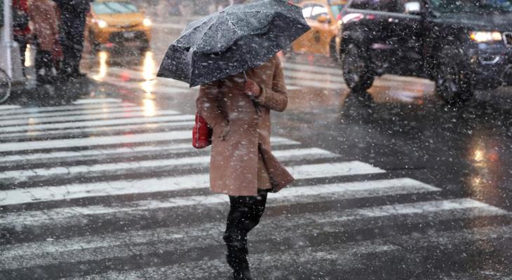 Во Владимире к середине недели ожидаются снег с дождём