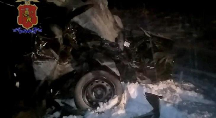 Под Владимиром произошло страшное ДТП с тремя погибшими