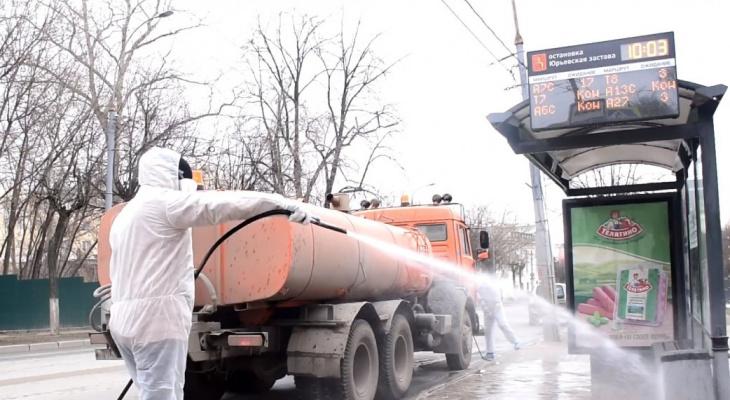Городские службы защищают Владимир от распространения коронавируса