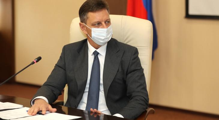 Губернатор Сипягин готов к снятию ограничений, введенных из-за COVID 19