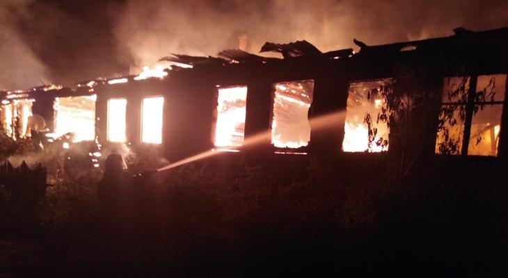 Из-за пожара в Гусь-Хрустальном районе 11 человек остались без жилья