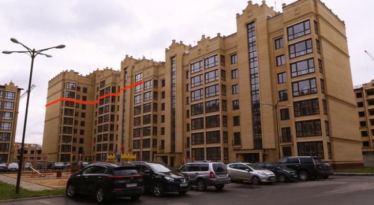 Дом с лишними этажами во Владимире может начать разрушаться