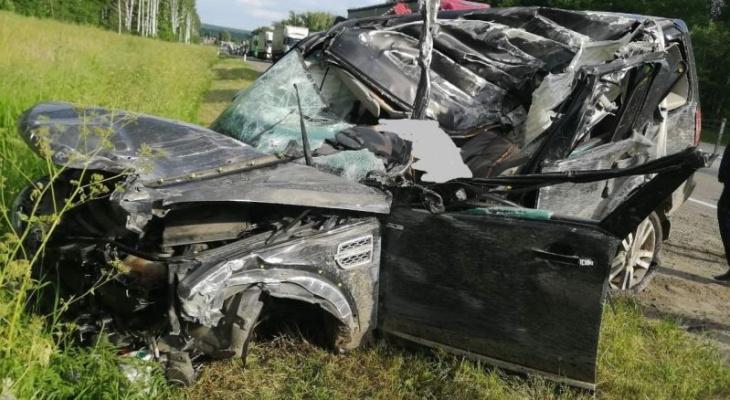 В Гороховецком районе произошло смертельное ДТП