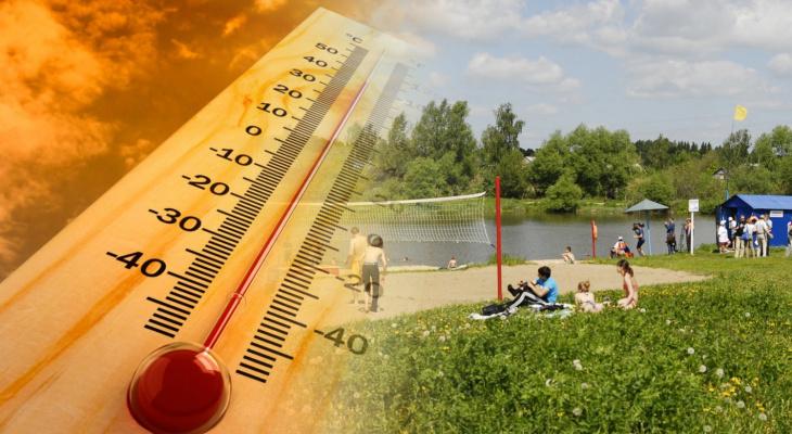 Как владимирцы могут спастись от летней жары?