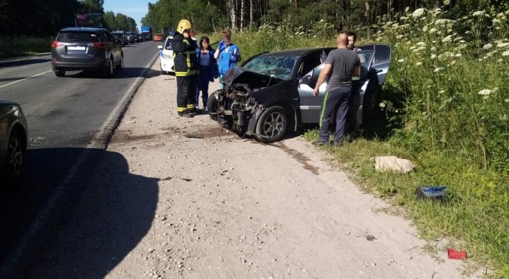 В Ковровском районе выезд на встречку закончился смертельным ДТП
