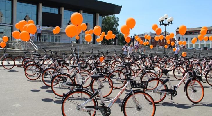 Во Владимире открыли городской велопрокат
