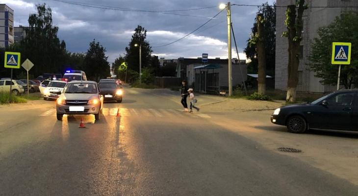 На пешеходном переходе в Коврове вновь сбили ребенка