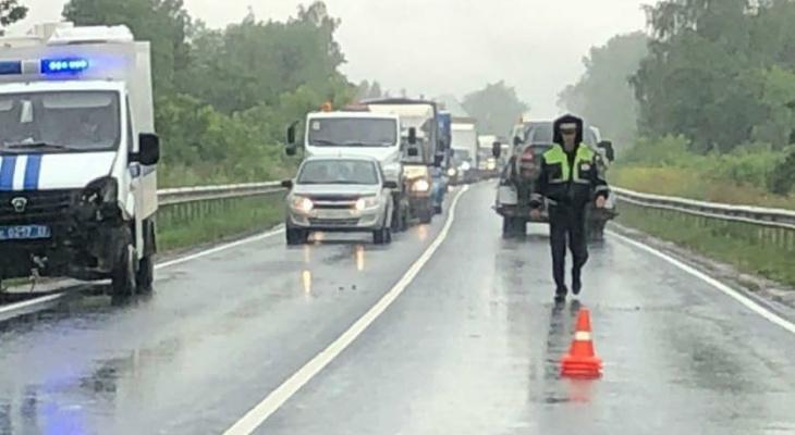 В Коврове произошло ДТП с участием полицейской машины