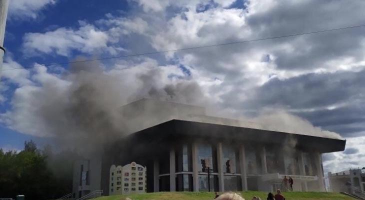 Пожар во владимирском драмтеатре не повредил его несущие конструкции