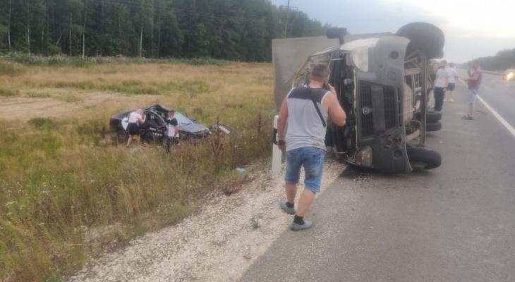 Пьяный таксист спровоцировал ДТП под Владимиром