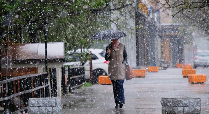 Синоптики предупреждают о снеге в августе
