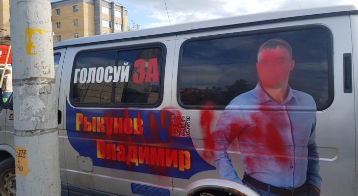 Владимирские вандалы испортили машину кандидата в депутаты