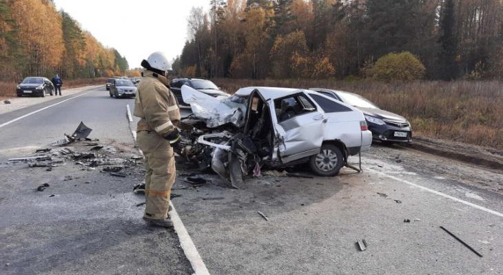 В жутком ДТП во Владимирской области пострадали люди