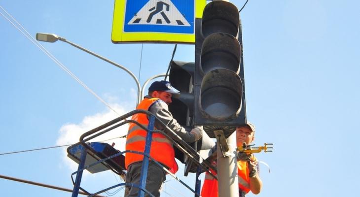 Названы места установки новых светофоров во Владимире
