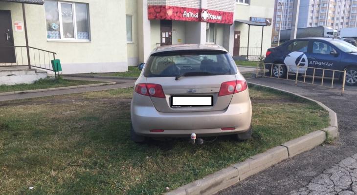 5 владимирских водителей этой недели, которым плевать на правила парковки