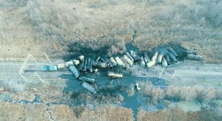 Ремонтные работы могли стать причиной крушения поезда в Камешковском районе