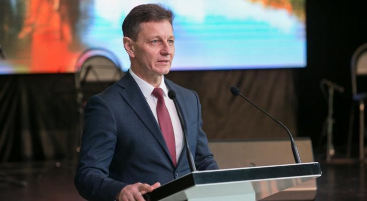 Губернатор Сипягин сообщил о своей госпитализации в Москву