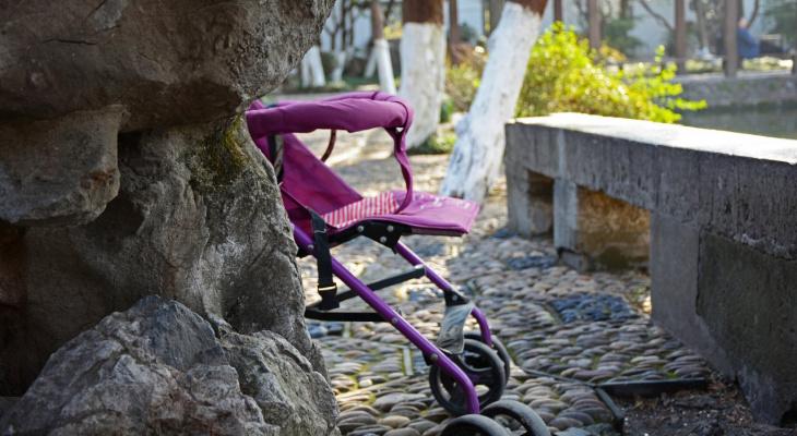 Во Владимирской области мужчина украл коляску у многодетной матери