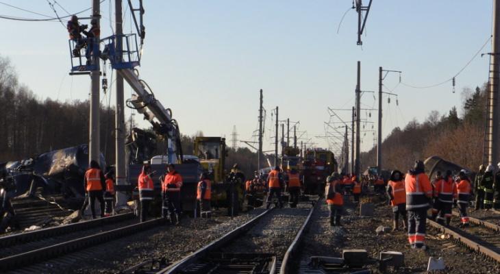 В РЖД создан штаб по ликвидации экологических последствий схода поезда
