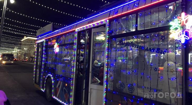 Во Владимире в новогоднюю ночь будет работать бесплатно общественный транспорт