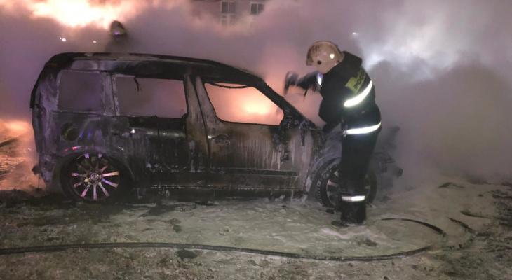 Во Владимирской области за ночь 4 января произошло 4 пожара