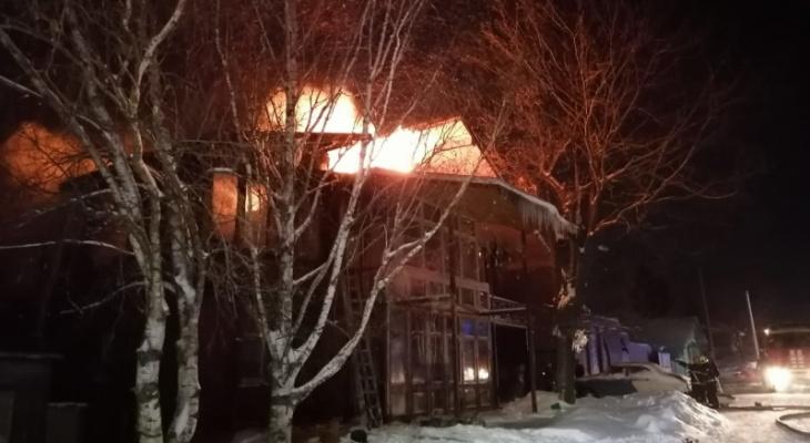 Минувшей ночью сгорело более 500 квадратных метров жилых помещений