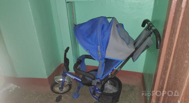 """За оставленный """"детский транспорт"""" в подъезде, придётся заплатить не детский штраф"""