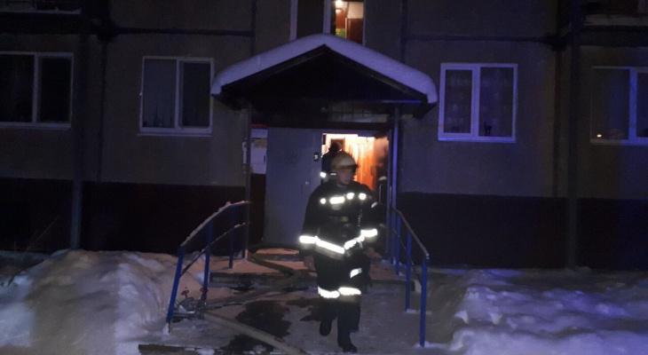 Во Владимирской области погибла женщина, спасая ребёнка из горящего дома