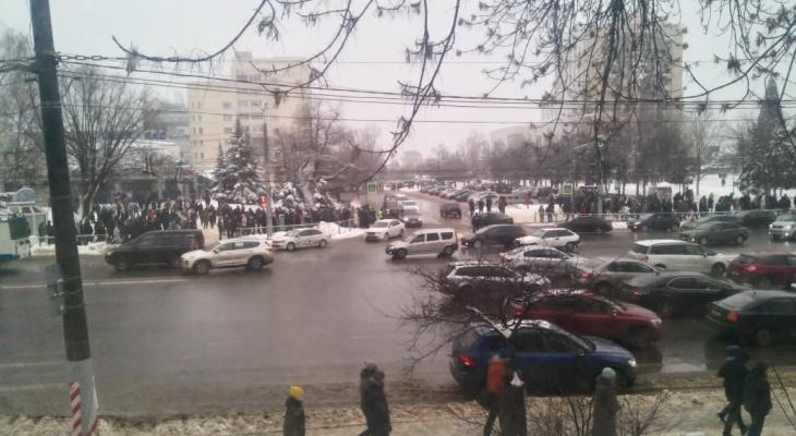 """Полиция: """"Организаторы незаконных митингов призывают к агрессии"""""""