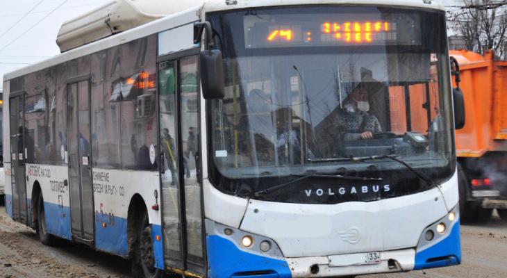 Ещё один автобусный маршрут во Владимире сменил перевозчика