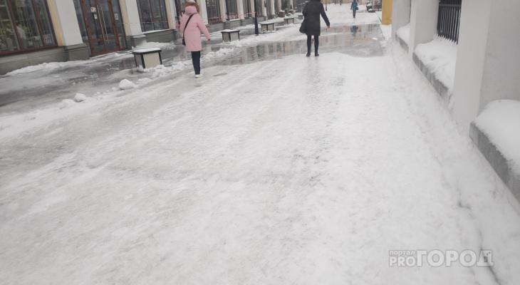 После оттепели и дождя владимирцев снова ждут морозы