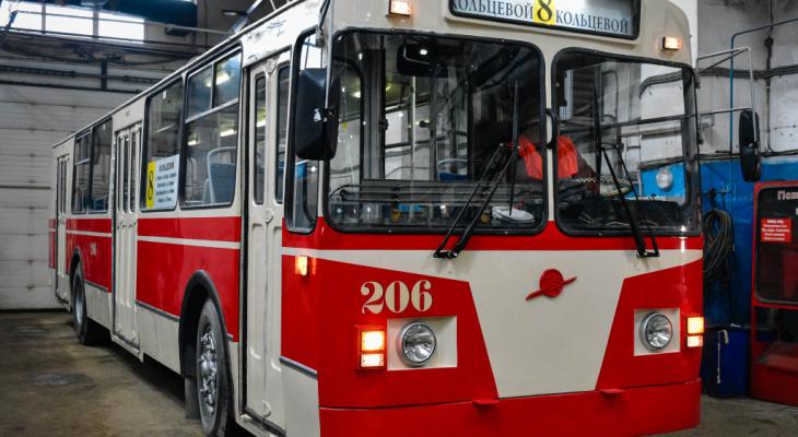 Во Владимире выйдет в рейс ретро-троллейбус