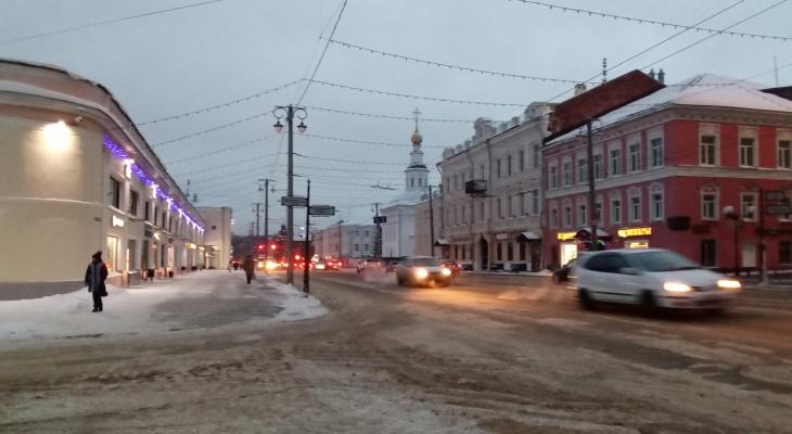 Владимирцев ожидает неприятная весенняя погода
