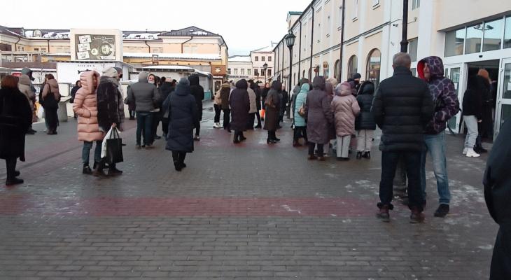 Из Северных торговых рядов эвакуировали людей