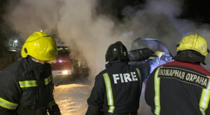 За сутки во Владимирской области произошло 6 пожаров