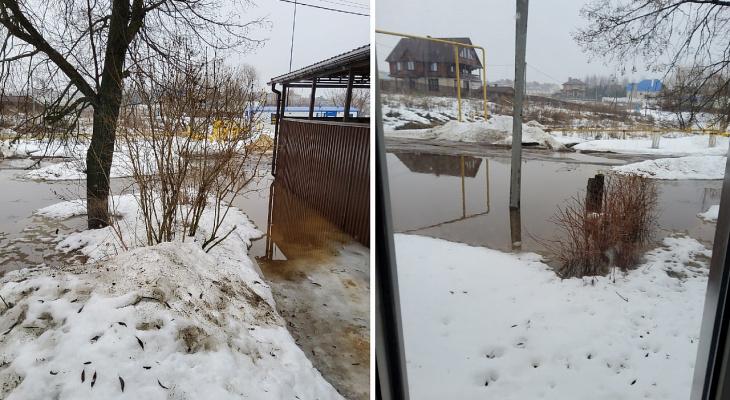 Из-за паводка во Владимире может затопить несколько предприятий