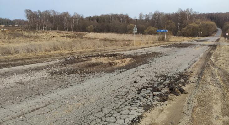 Строители автотрассы М-12 уже разрушают сельские дороги и уничтожают леса