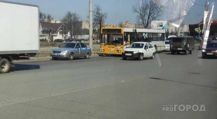 Жительница Владимира повредила голову в автобусе