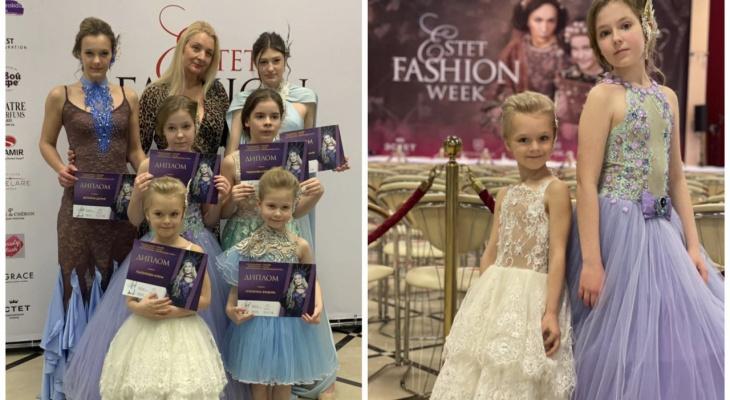 Владимирские модели покорили подиум на Неделе моды в Москве