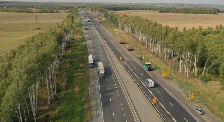 Во Владимирской области временно перекроют 3 участка трассы М-7