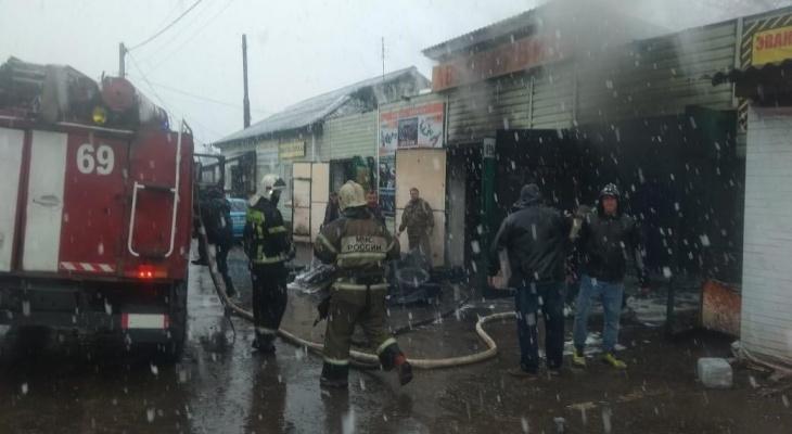 Во Владимирской области в автосервисе сгорел автомобиль