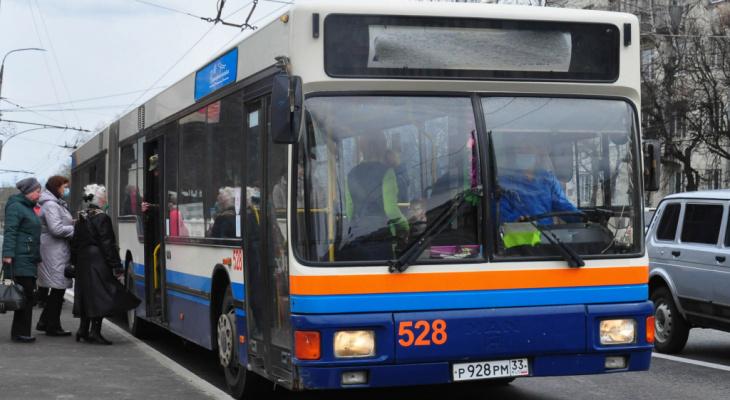 На Пасху во Владимире ввели 5 дополнительных автобусных маршрутов