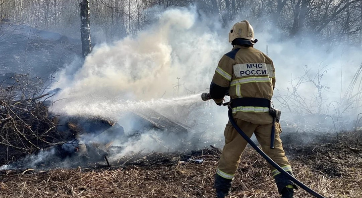 Во Владимирскую область вернётся особый противопожарный режим