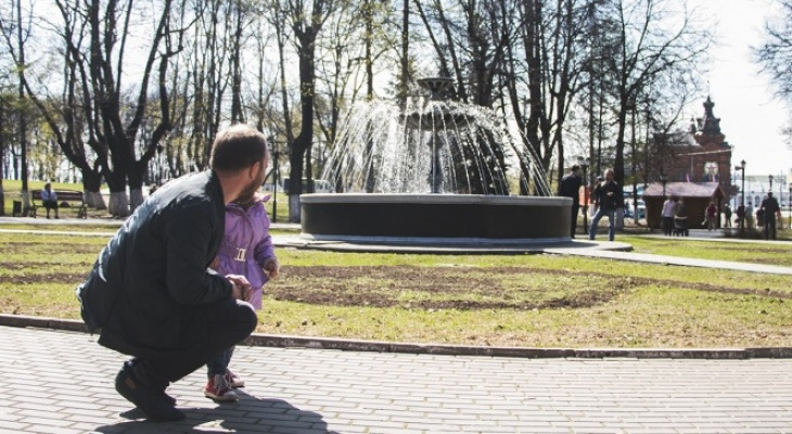 Во Владимире сегодня запустят первый фонтан