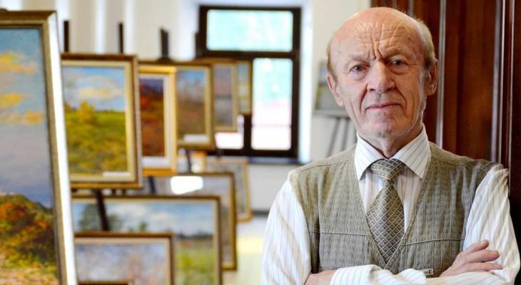 Во Владимире скончался мастер акварели Виктор Шамаев