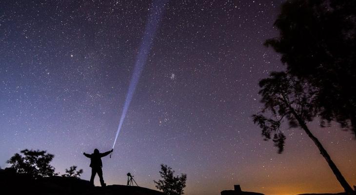 В майские праздники владимирцы смогут увидеть звездопад
