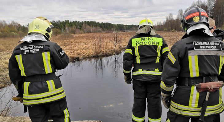 В Гусь-Хрустальном женщина  улетела в реку на машине и едва не утонула