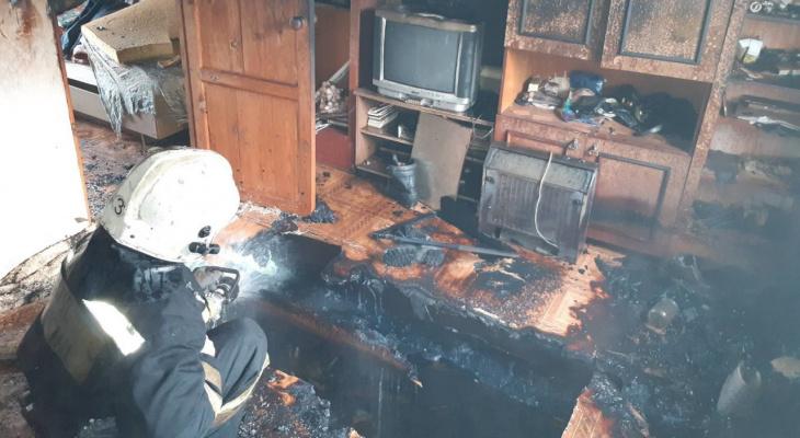 За несколько часов во Владимире и области произошло 3 смертельных пожара